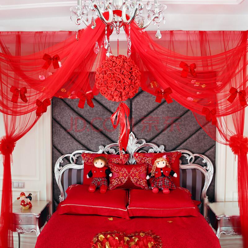 婚房装饰花球 婚庆婚礼布置装饰套餐用品