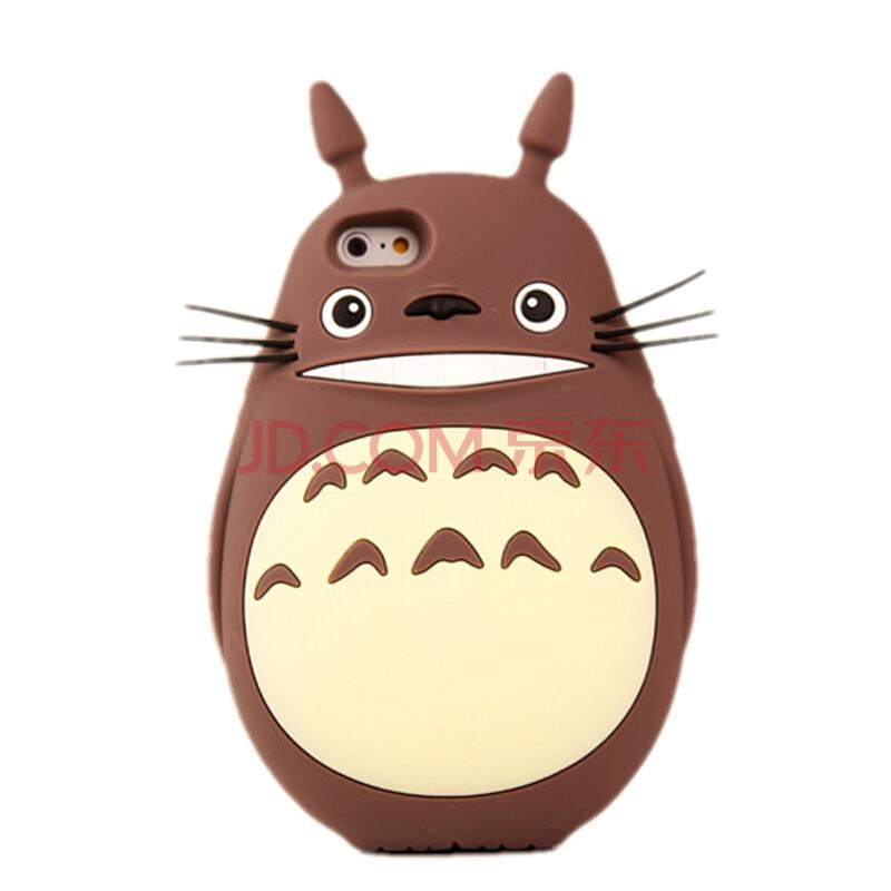 奴卡 卡通龙猫手机壳/泰迪熊可爱手机套硅胶保护软壳