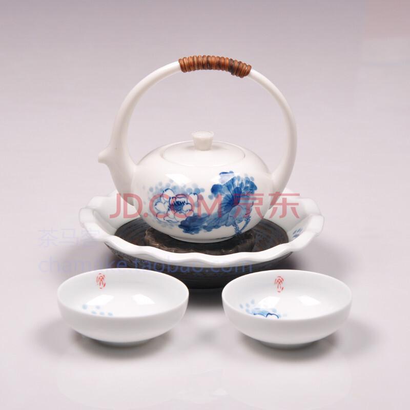青花瓷手绘茶具 套装 陶瓷茶具