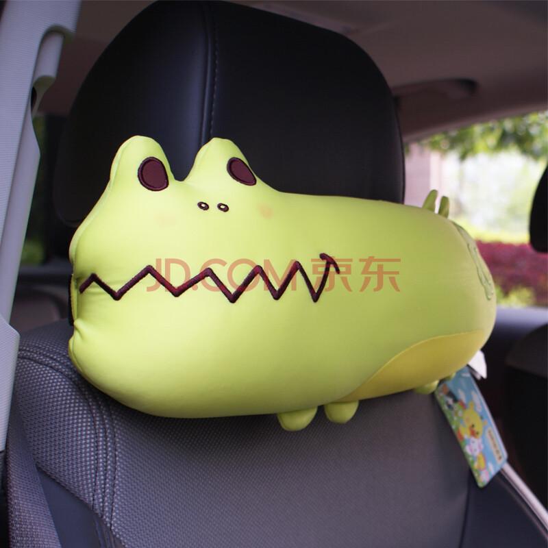 sobecar卡通动物汽车头枕护颈枕可爱车用座椅靠枕枕头图片