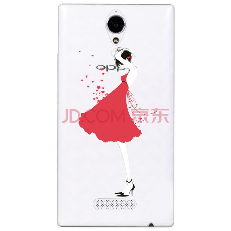 红裙子女孩-oppo