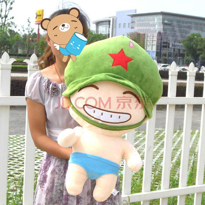 大号网络红人帅兵军人公仔毛绒玩具娃娃 生日圣诞情人图片