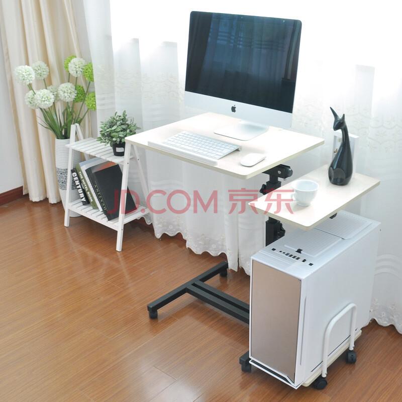 懒人移动旋转床边台式电脑桌创意床上笔记本电脑桌子