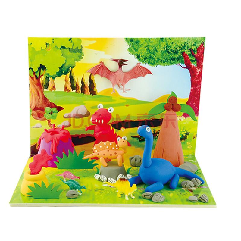 橡皮泥手工制作图片大全 恐龙