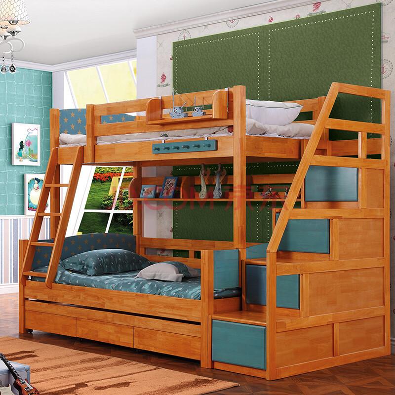 儿童上下床双层床图片