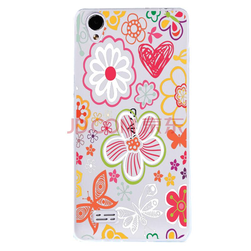 手机保护套 适用于vivo y23 l y923 硅胶软壳 立体浮雕 超薄 手绘花朵