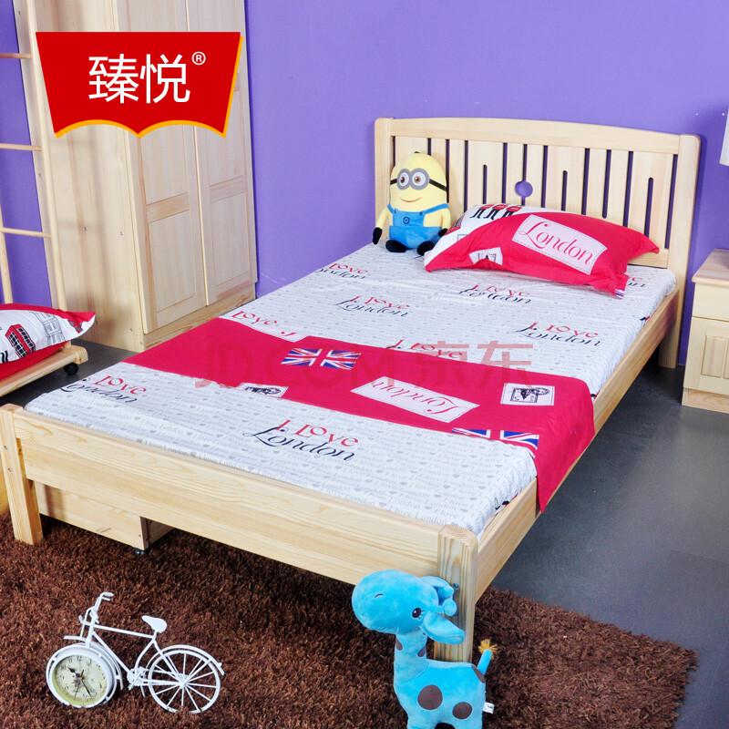 床单双人儿童床1