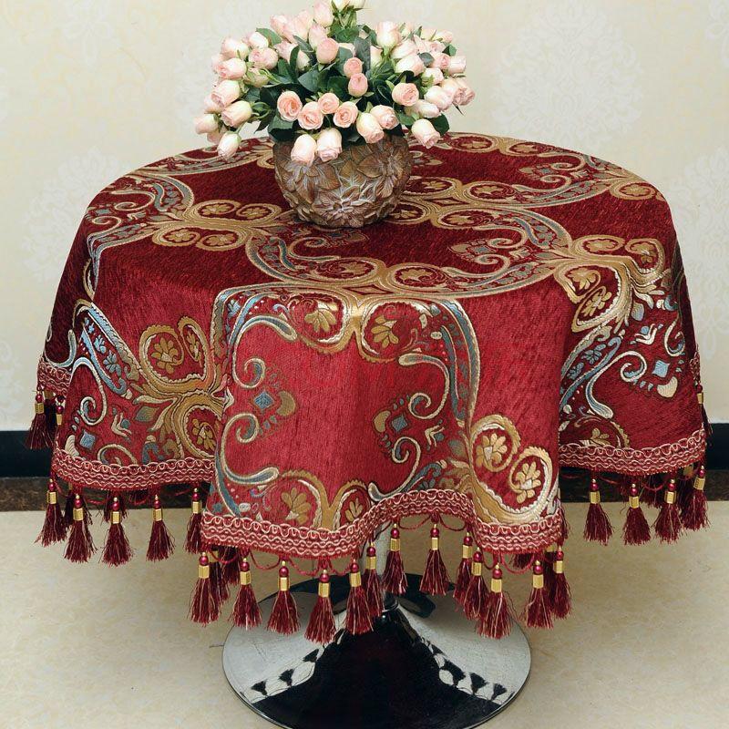 欧式餐桌布艺