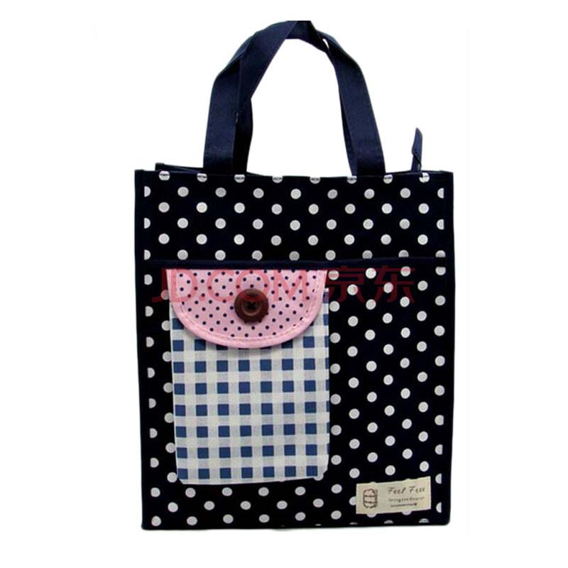 江鑫源 中小学生补习手提袋 儿童卡通环保文具袋可爱补习包手拎包 深