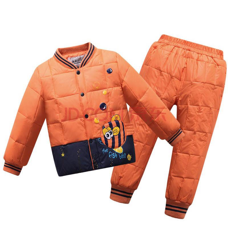 2015冬季新款儿童羽绒服内胆套装 韩版男女童宝宝羽绒