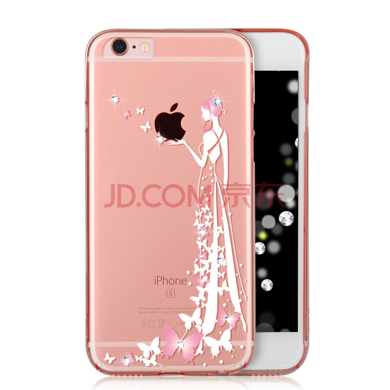 i控(icon)适用于iphone6s/plus手机壳奢华水钻保护