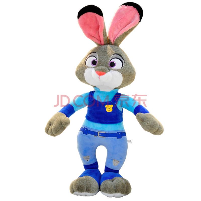 疯狂动物城公仔狐狸尼克疯狂的兔子朱迪毛绒玩具玩偶