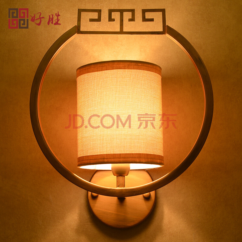 仿古新中式壁灯客厅 酒店会所走廊过道壁灯卧室阳台灯图片