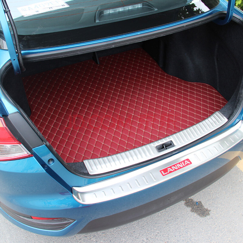 车格仕 16日产新蓝鸟后备箱垫 后尾箱垫全包围专用新蓝鸟尾垫 改装