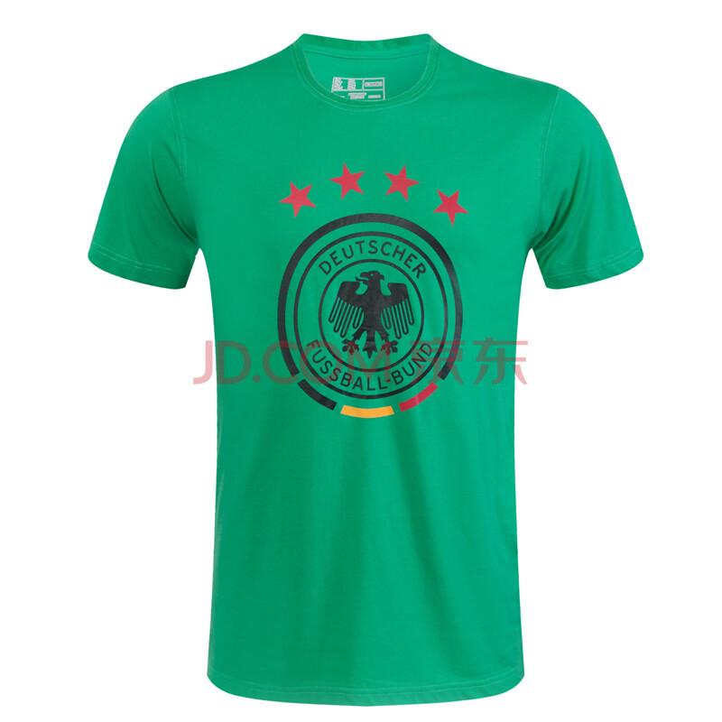 2016欧洲杯德国队球衣 男 德国t恤 短袖足球训练服 绿色 l图片