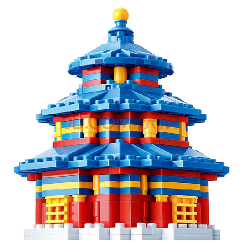 中国古建筑儿童画_第3页_画画大全
