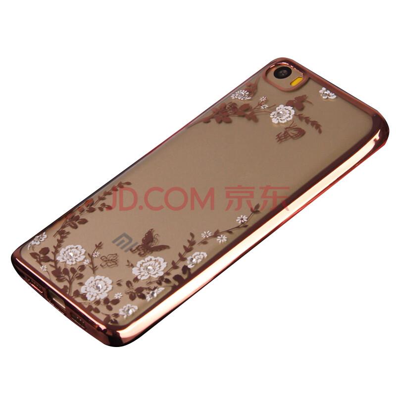米5手机壳电镀软壳