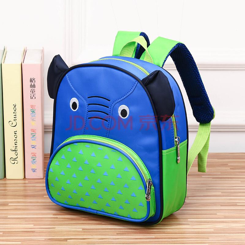儿童书包 幼儿园卡通背包可爱动物双肩包1-5岁qc