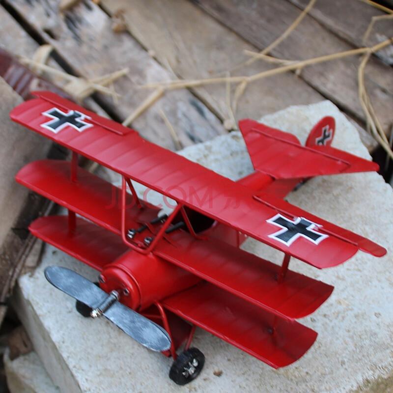 腾彩二战双翼战斗机飞机模型