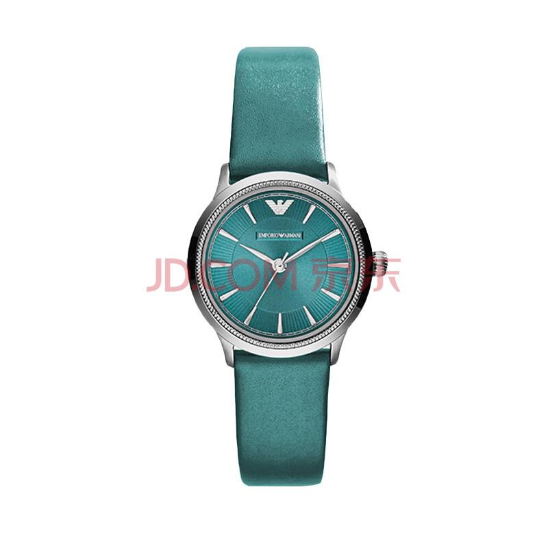 阿玛尼(armani)女表 女士时尚石英腕表 时尚设计简约圆形女士手表