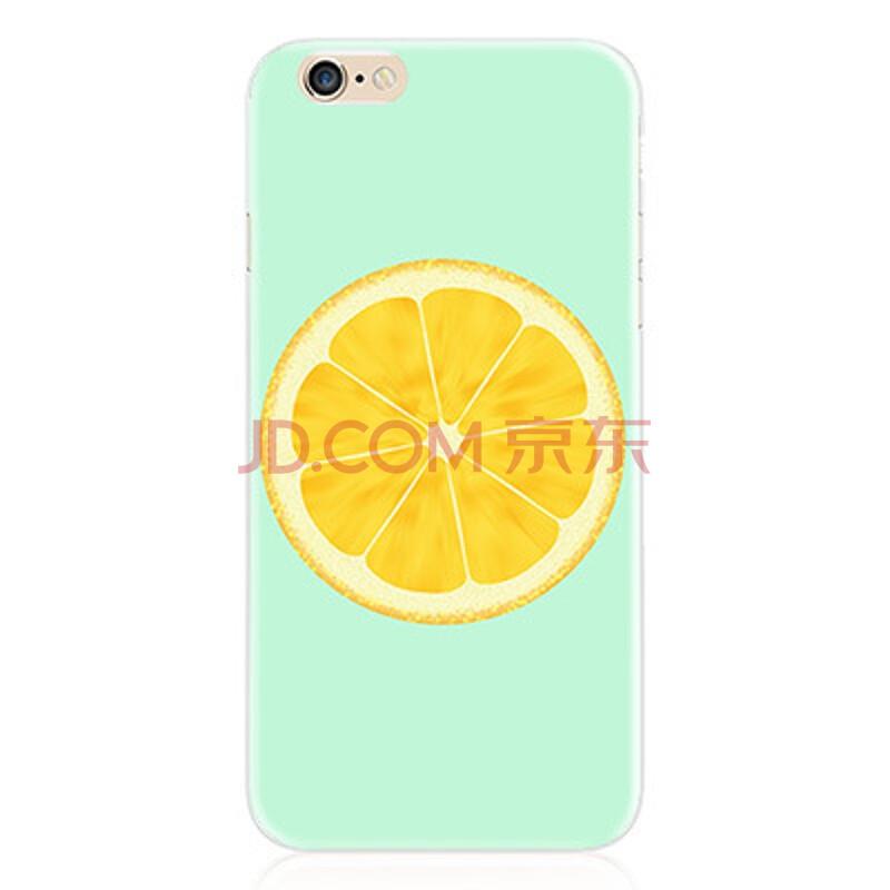 韦兹 水果手绘手机壳创意手机套硅胶软壳手机套 适用于苹果iphone6/6s