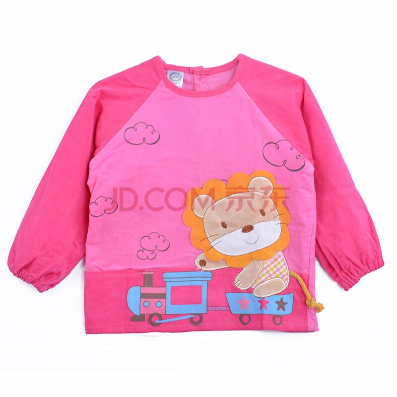童装婴儿吃饭衣小孩儿童外套画画围衣婴儿外出服衣