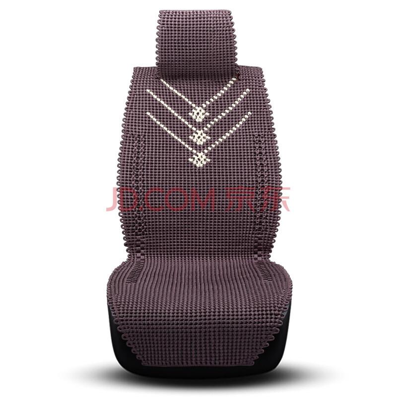 新款汽车坐垫夏季纯手工编织座垫四季通用 x3-1深紫色