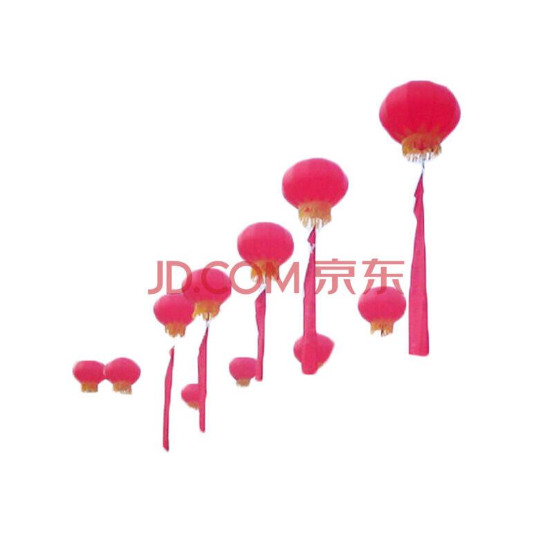 灯笼空飘球 开业庆典广告升空氢气球拱门 婚庆用品气模 1.6 红色