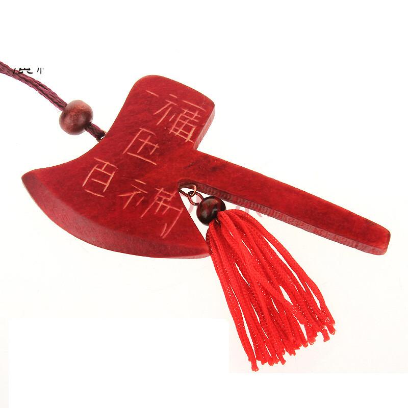 谷氏缘天然桃木剑桃木斧桃木刀挂件桃木剑刀斧套装项链家居装饰品