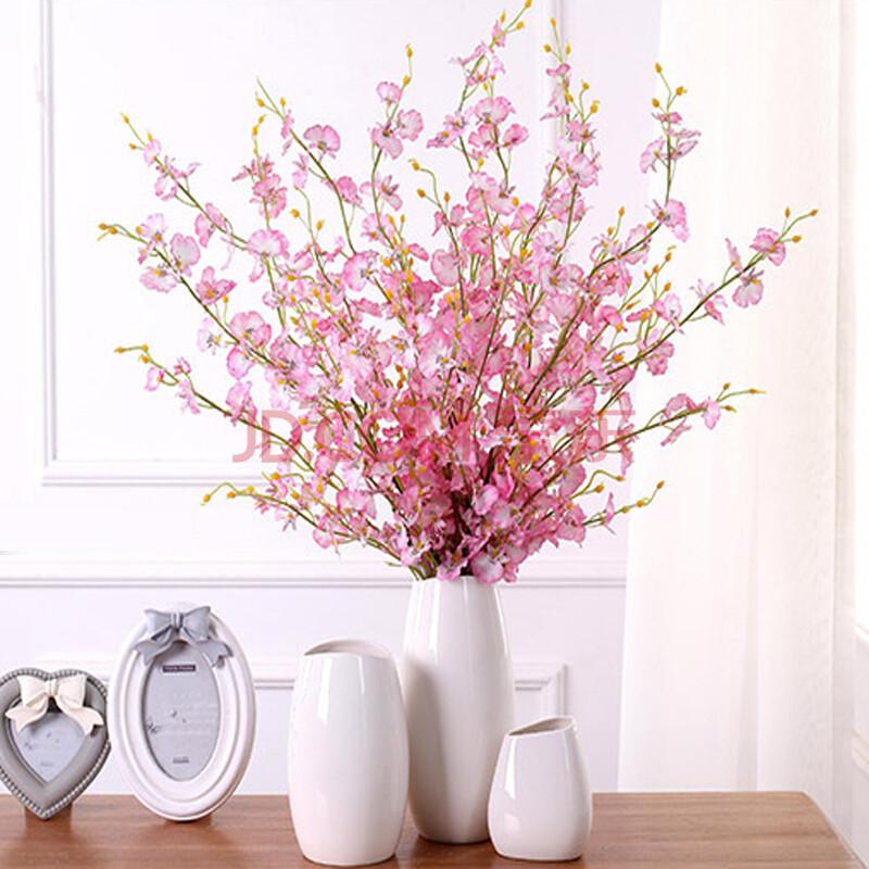 客厅假花花套装