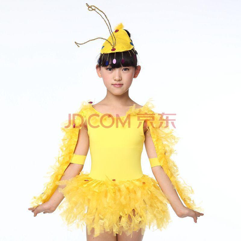 时尚儿童动物舞台小鸡也疯狂演出服装2016时尚幼儿舞蹈节目表演女童