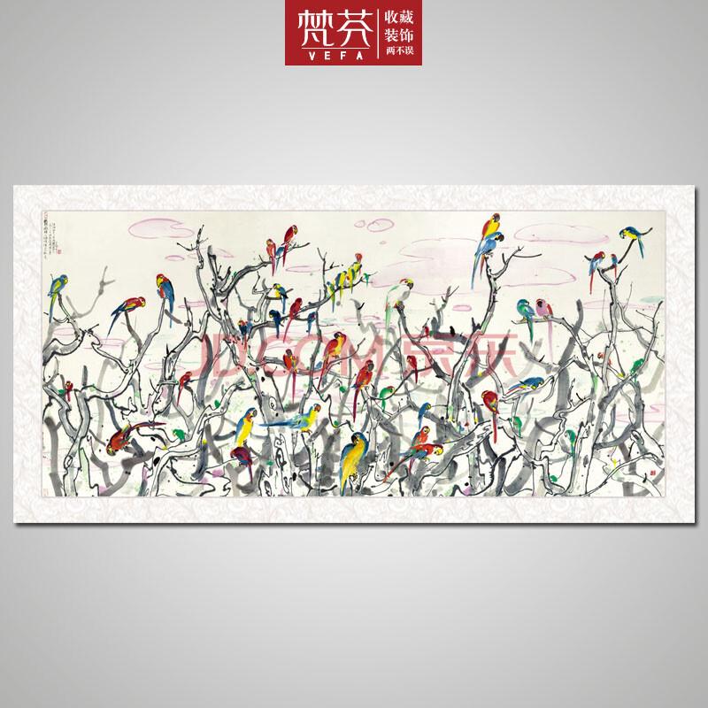 中国式装饰画现代水墨画-中国式装饰画