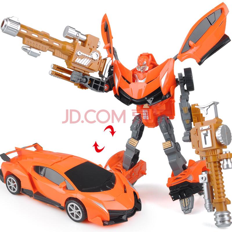 炫酷变形机器人带八种武器汽车机器人男孩儿童互动益智变形玩具礼物