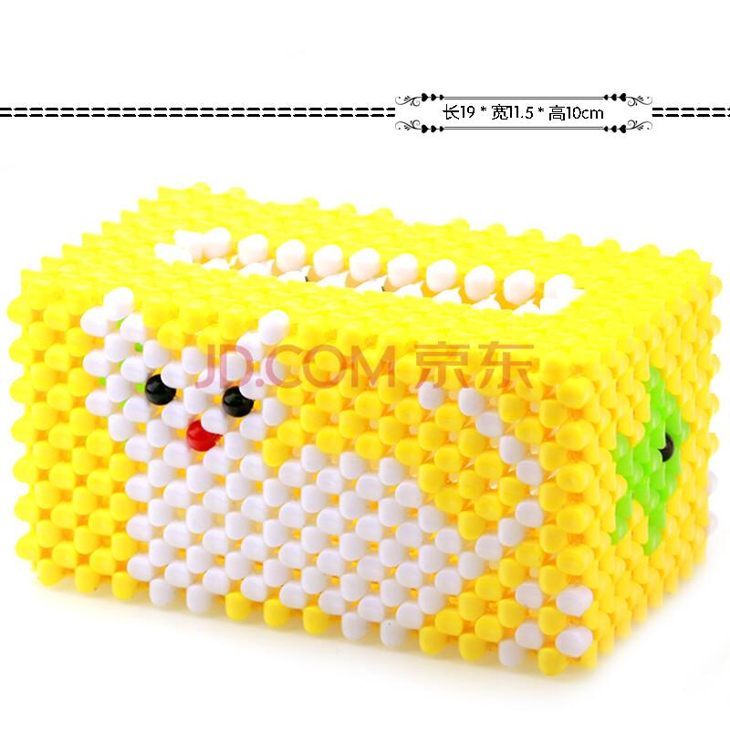手工diy串珠南瓜盒糖果盒材料包批发10mm亚克力方块珠