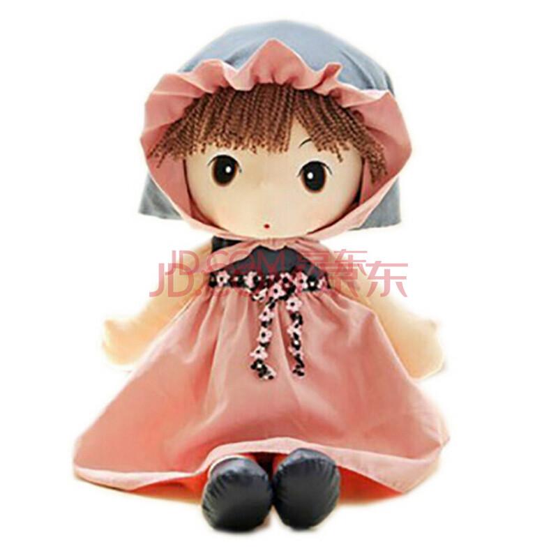 熙悦礼品 百变菲儿布娃娃可爱毛绒玩具公仔洋娃娃儿童