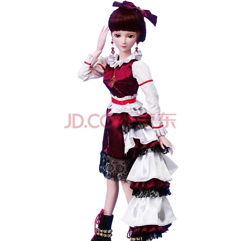 叶罗丽娃娃精灵梦 夜萝莉孔雀仙子衣服套装芭比娃娃