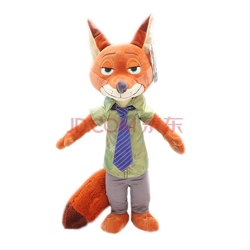 皮皮龙 疯狂动物城公仔毛绒玩具朱迪兔子狐狸尼克玩偶图片