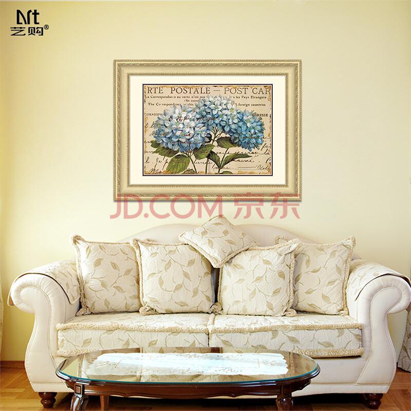 现代简约装饰画墙画小清新植物花卉客厅餐厅卧室壁画沙发背景墙装置画