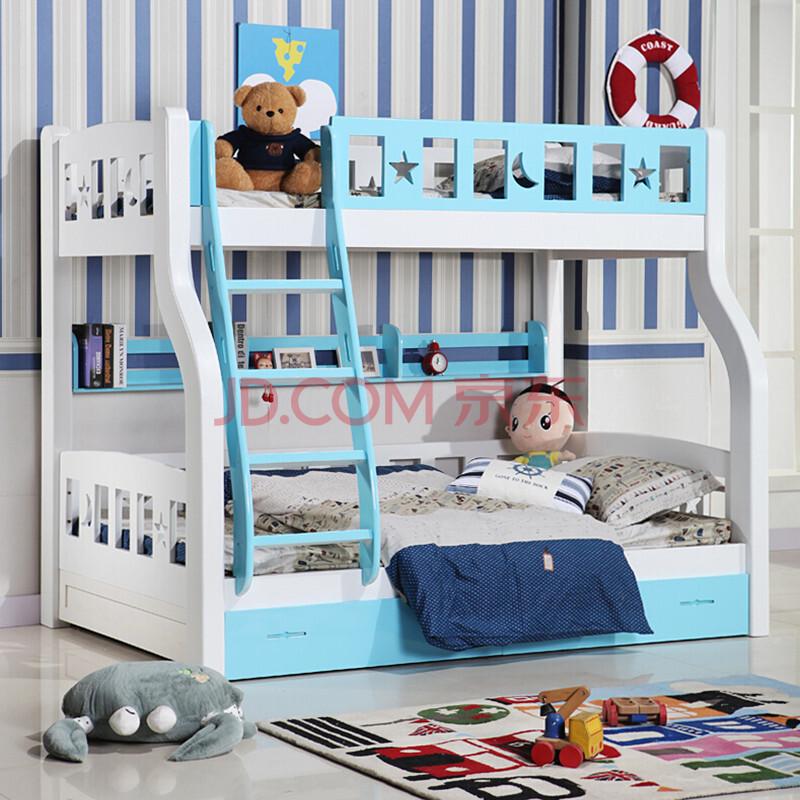 上下床欧式双层床母子床上下铺实木床儿童床两层床1