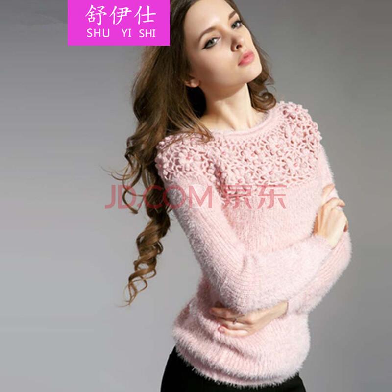 秋冬装新款打底毛衣女性套头外穿加厚保暖