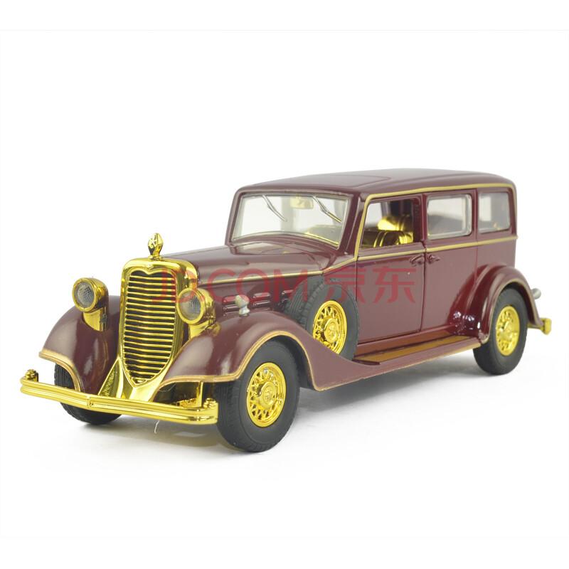 彩珀巴士面包车警车跑车越野车声光回力合金仿真模型玩具车 凯迪拉克