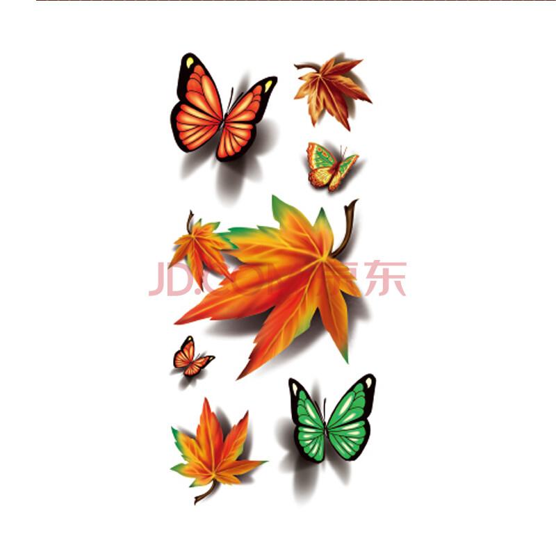 三d立体蝴蝶纹身图片展示