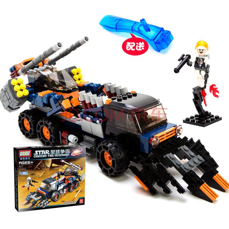 大战军事模型飞机战车机器人科幻拼插玩具兼容lego