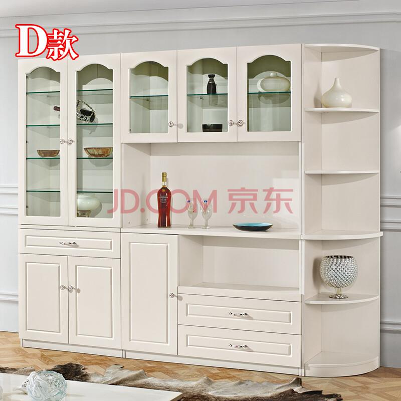 欧式餐柜酒柜隔断柜韩式餐边柜茶水柜储物柜图片