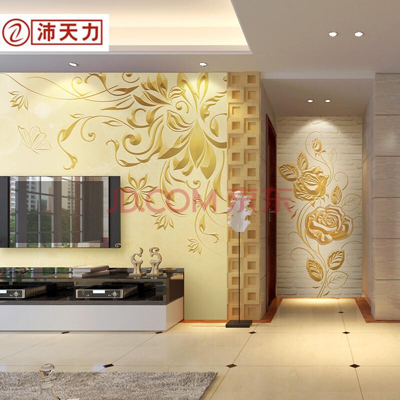 沛天力客厅电视背景墙壁纸 卧室墙布 欧式3d立体墙纸壁画 维纳斯 德国