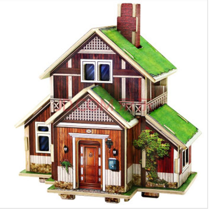 手工制作房子模型