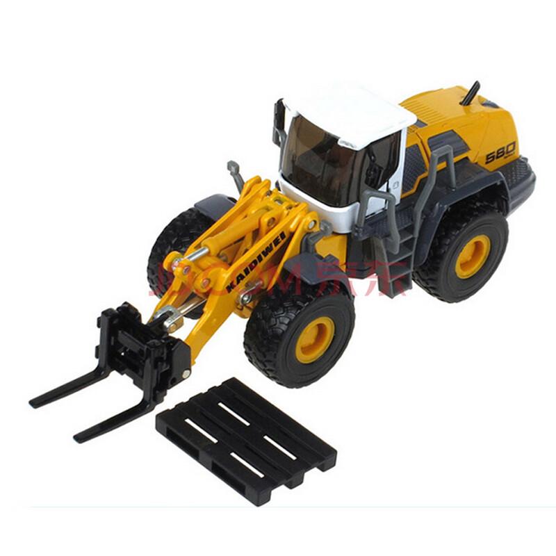 机推土机吊车消防车合金工程车建筑车模型儿童玩具