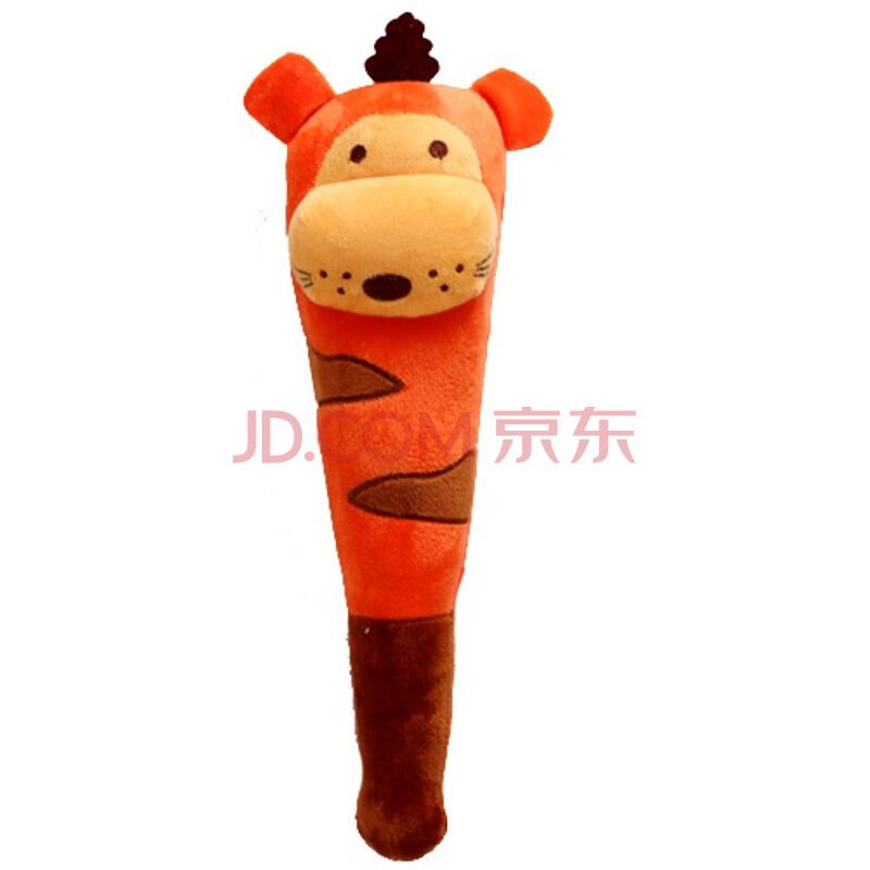 可爱小黄人/青蛙/猴/小猪/兔子 卡通毛绒捶背棒/木头按摩锤敲打锤