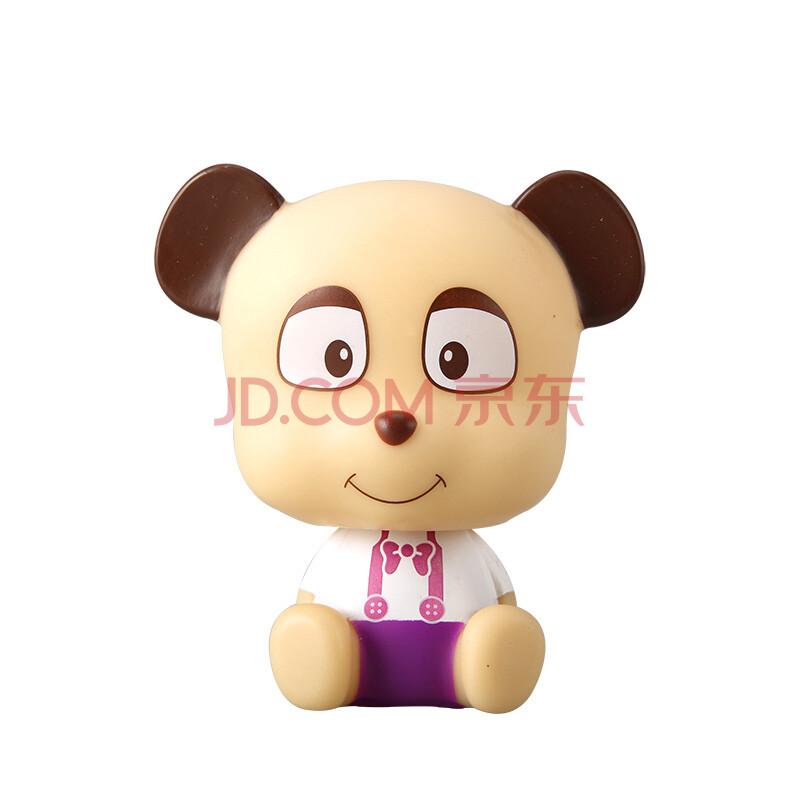 美克杰 酷拉蒂菲可爱汽车摆件 立体摇头公仔 创意玩偶