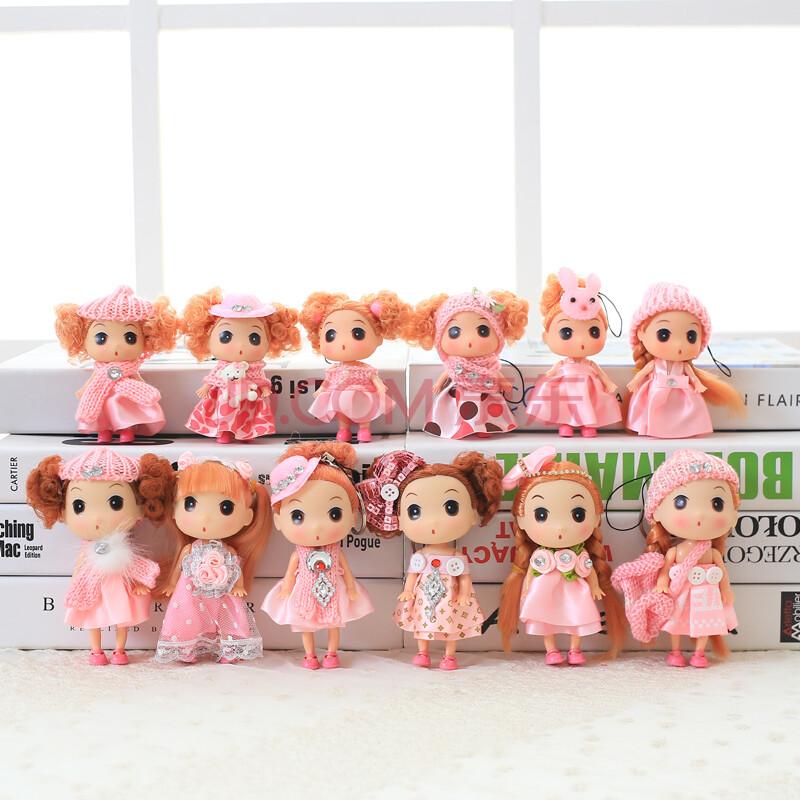 可爱娃娃娃娃迷糊娃娃礼盒套装生日六一儿童节礼物女孩女生 粉色亲子